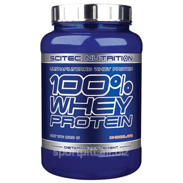Купить Протеины, спортивное питание 100 Whey Protein 920 грамм (Scitec Nutrition)