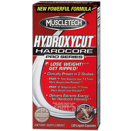 Купить Жиросжигатели HYDROXYCUT HARDCORE 210 капсул