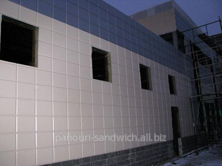 Кассеты, панели, сэндвич-панели фасадные