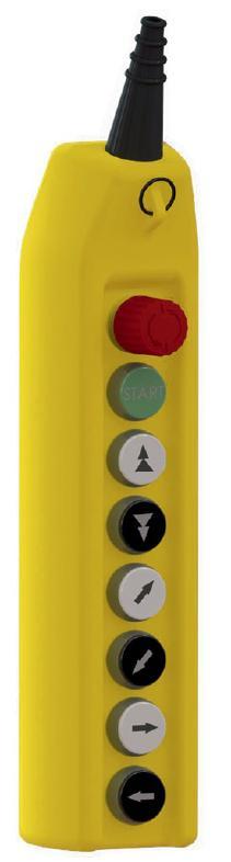Telpher control panel
