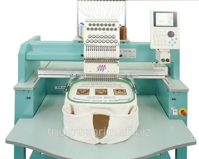 Одноголовочные вышивальные машины TAJIMA серии TFMX-C