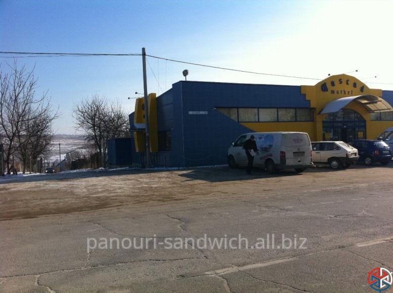 Быстровозводимые здания сэндвич панели