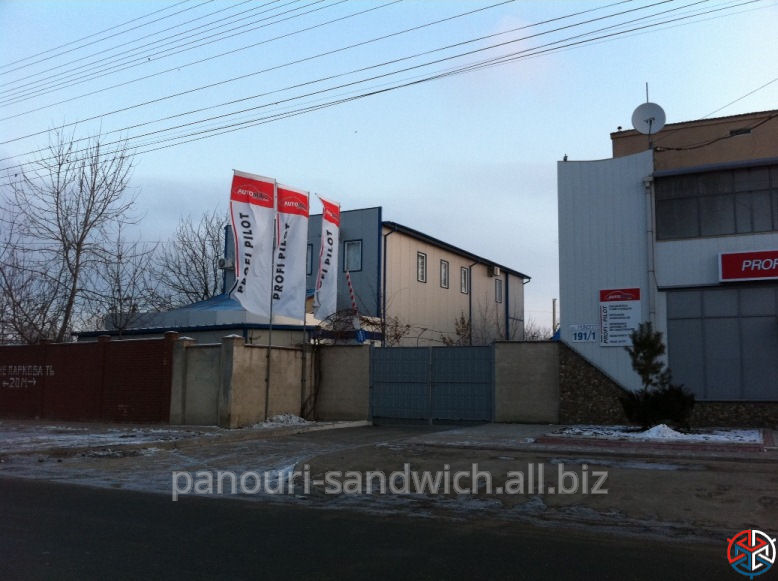 Здания из сэндвич панелей в Молдове