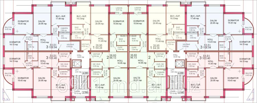 Купить Квартиры 3-х комнатные в Кишиневе