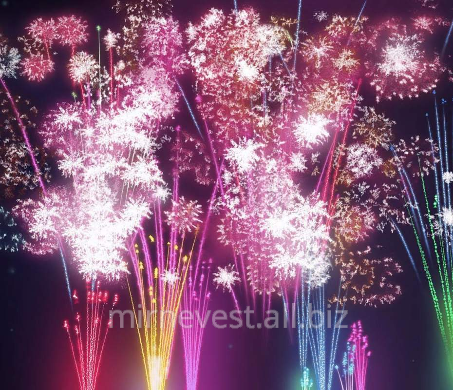 Buy Fireworks and special effects on a wedding