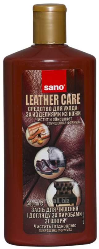 Купить Средство для чистки кожаных изделий Sano