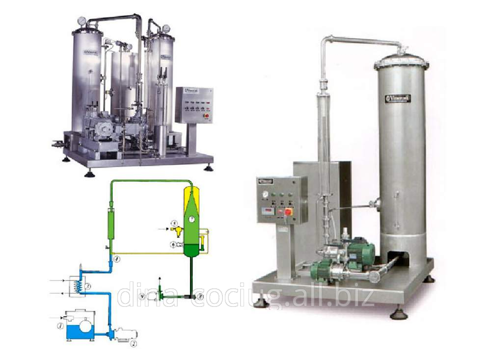 Buy Equipment for water saturation carbon dioxide