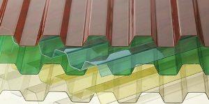 Купить Покрытия поливинилхлоридные,Профилированный ПВХ Ondex,Крыши ПВХ,Навесы ПВХ,Световые проемы ПВХ