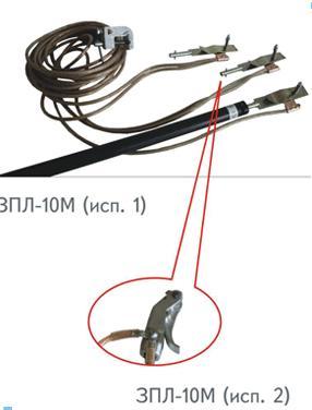 Portable linear grounding ЗПЛ