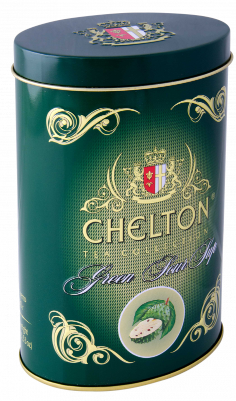 Tea in gift packing of Chelton Green Tea Soursop 100 of