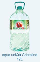 Купить Вода бутилированная aqua unIQa Cristalina 12L