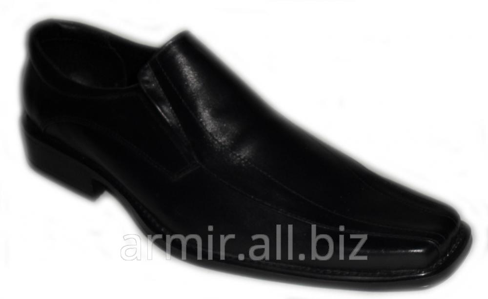 Купить Туфли мужские кожаные