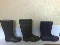 Las botas de goma