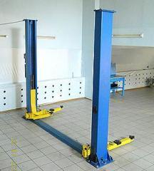 Elevators are automobile hydraulic