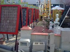 Фортан, бетонные стеновые блоки