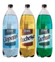 Soft drinks the aerated Zebra