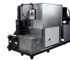 Equipment for production of briquettes Weima