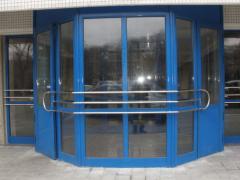 Двери,окна из алюминиевого профиля