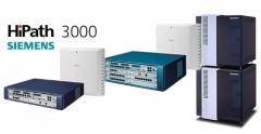Stations telephone firms Siemens HiPath 3000