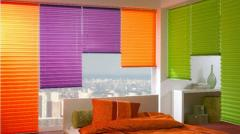 The prices of aluminum blinds, metal horizontal