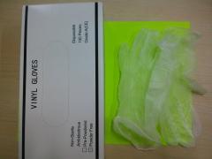 Gloves vinyl / mănuși de vinil