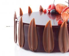 Decor chocolate for holiday
