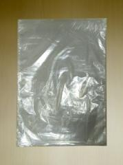 Plastic bag without handles 30x40
