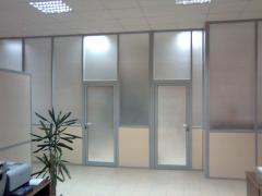 Office partitions in Moldova, the price, Office