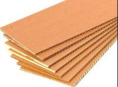 Cardboard shee