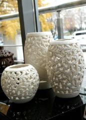 Products from ceramics of handwork