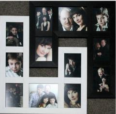 Photos are family