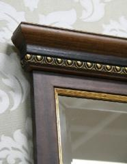 Wall mirror from the Italian baguette of any sizes