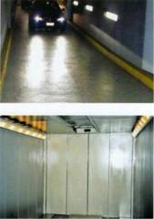 Elevators for transportation of any kinds of cars