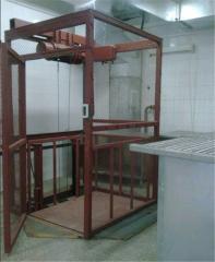 Platform cargo elevators