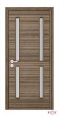 Двери межкомнатные шпонированные серии Modum со