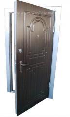 Entrance steel doors of MD-3