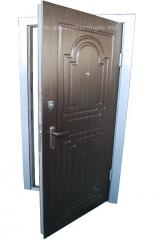 Doors entrance of MD-4 steel