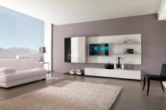 Изысканная мебельная горка в стиле модерн