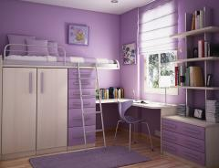 Compact furniture for the teenage girl