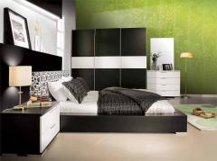 Refined bedrooms in modernist style