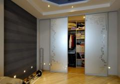 Wardrobe rooms by the individual order