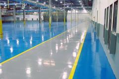 Bulk polymeric floors. Podele turnate.