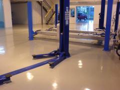 Epoxy floors. Podele epoxidice.