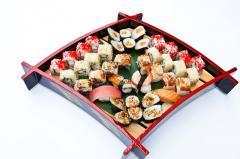 Суши в ресторане Morimoto