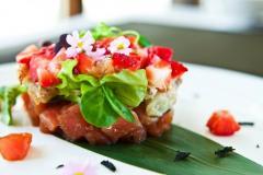 Коктейли из морепродуктов в ресторане Morimoto
