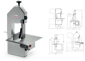 Saw for cutting of mea