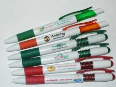 Ручки под нанесение логотипа