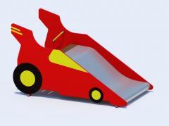 Детская горка модель Т27 Автомобиль