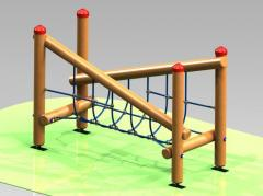 Children's furniture and sports constructions
