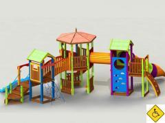 Игровые комплексы для детей с ограниченными